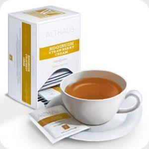 Чай Ройбуш Клубника со сливками