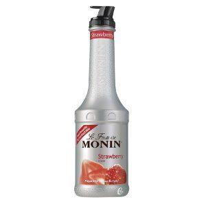Monin пюре клубника