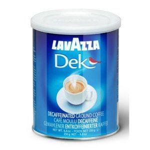 Молотый кофе Lavazza Decaffeinato